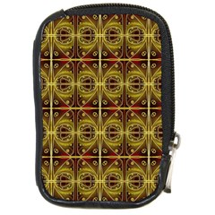 Seamless Symmetry Pattern Compact Camera Cases by Simbadda