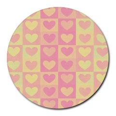 Pattern Round Mousepads by Valentinaart