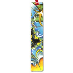 Fractal Background With Abstract Streak Shape Large Book Marks by Simbadda