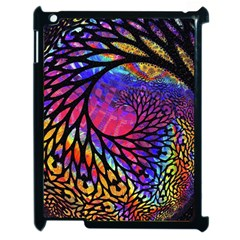 3d Fractal Mandelbulb Apple Ipad 2 Case (black) by Simbadda