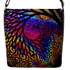 3d Fractal Mandelbulb Flap Messenger Bag (s) by Simbadda