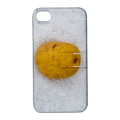 Hintergrund Salzkartoffel Apple Iphone 4/4s Hardshell Case With Stand by wsfcow