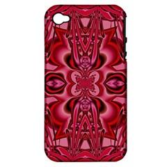 Secret Hearts Apple Iphone 4/4s Hardshell Case (pc+silicone) by Simbadda