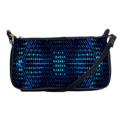 Vibrant Pattern Colorful Seamless Pattern Shoulder Clutch Bags by Simbadda