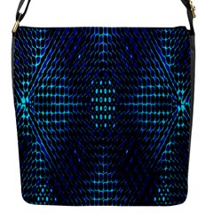 Vibrant Pattern Colorful Seamless Pattern Flap Messenger Bag (s) by Simbadda