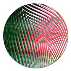 Watermelon Dream Magnet 5  (round) by Simbadda