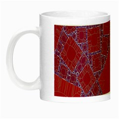 Voronoi Diagram Night Luminous Mugs by Simbadda
