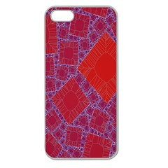 Voronoi Diagram Apple Seamless Iphone 5 Case (clear) by Simbadda