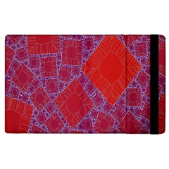 Voronoi Diagram Apple Ipad 3/4 Flip Case by Simbadda