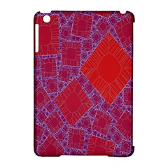 Voronoi Diagram Apple Ipad Mini Hardshell Case (compatible With Smart Cover) by Simbadda