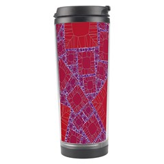 Voronoi Diagram Travel Tumbler by Simbadda