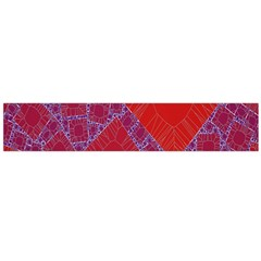 Voronoi Diagram Flano Scarf (large) by Simbadda