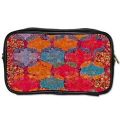 Abstract Art Pattern Toiletries Bags 2 Side