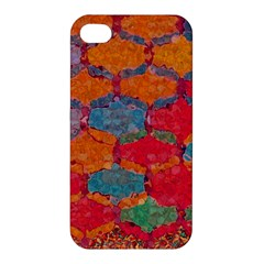 Abstract Art Pattern Apple Iphone 4/4s Premium Hardshell Case by Simbadda