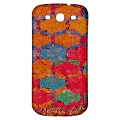 Abstract Art Pattern Samsung Galaxy S3 S Iii Classic Hardshell Back Case by Simbadda