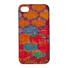 Abstract Art Pattern Apple Iphone 4/4s Hardshell Case With Stand by Simbadda