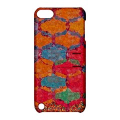 Abstract Art Pattern Apple Ipod Touch 5 Hardshell Case With Stand by Simbadda
