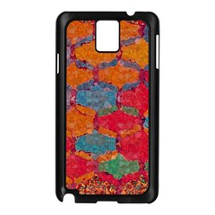Abstract Art Pattern Samsung Galaxy Note 3 N9005 Case (black) by Simbadda