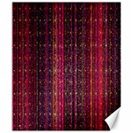 Colorful And Glowing Pixelated Pixel Pattern Canvas 8  x 10  10.02 x8 Canvas - 1