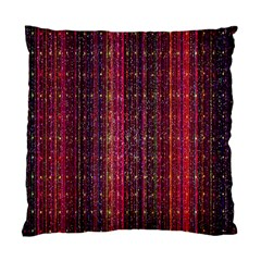 Colorful And Glowing Pixelated Pixel Pattern Standard Cushion Case (two Sides) by Simbadda