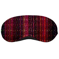 Colorful And Glowing Pixelated Pixel Pattern Sleeping Masks by Simbadda