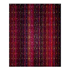 Colorful And Glowing Pixelated Pixel Pattern Shower Curtain 60  X 72  (medium)  by Simbadda