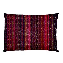 Colorful And Glowing Pixelated Pixel Pattern Pillow Case (two Sides) by Simbadda