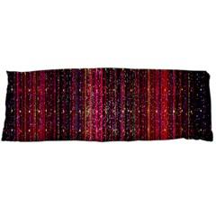 Colorful And Glowing Pixelated Pixel Pattern Body Pillow Case (dakimakura) by Simbadda