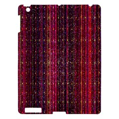 Colorful And Glowing Pixelated Pixel Pattern Apple Ipad 3/4 Hardshell Case by Simbadda