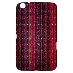 Colorful And Glowing Pixelated Pixel Pattern Samsung Galaxy Tab 3 (8 ) T3100 Hardshell Case  by Simbadda