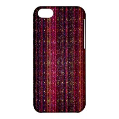 Colorful And Glowing Pixelated Pixel Pattern Apple Iphone 5c Hardshell Case by Simbadda
