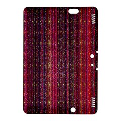 Colorful And Glowing Pixelated Pixel Pattern Kindle Fire Hdx 8 9  Hardshell Case by Simbadda
