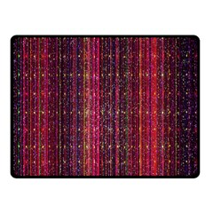 Colorful And Glowing Pixelated Pixel Pattern Double Sided Fleece Blanket (small)  by Simbadda