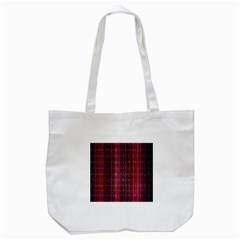 Colorful And Glowing Pixelated Pixel Pattern Tote Bag (white) by Simbadda