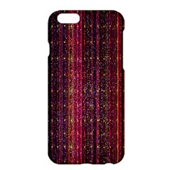 Colorful And Glowing Pixelated Pixel Pattern Apple Iphone 6 Plus/6s Plus Hardshell Case by Simbadda