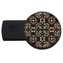 Abstract Elegant Background Pattern Usb Flash Drive Round (4 Gb) by Simbadda