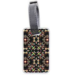 Abstract Elegant Background Pattern Luggage Tags (one Side)  by Simbadda