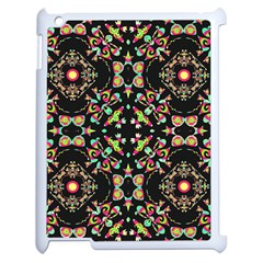 Abstract Elegant Background Pattern Apple Ipad 2 Case (white) by Simbadda