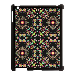 Abstract Elegant Background Pattern Apple Ipad 3/4 Case (black) by Simbadda