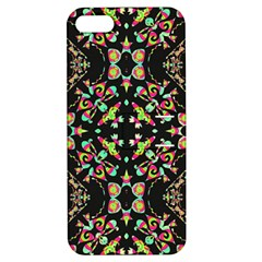 Abstract Elegant Background Pattern Apple Iphone 5 Hardshell Case With Stand by Simbadda