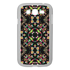Abstract Elegant Background Pattern Samsung Galaxy Grand Duos I9082 Case (white) by Simbadda