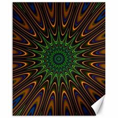 Vibrant Colorful Abstract Pattern Seamless Canvas 16  X 20   by Simbadda