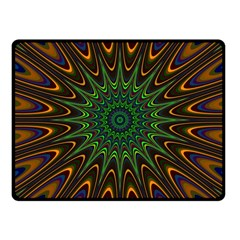 Vibrant Colorful Abstract Pattern Seamless Fleece Blanket (small) by Simbadda