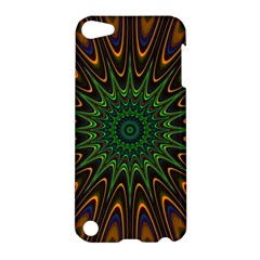 Vibrant Colorful Abstract Pattern Seamless Apple Ipod Touch 5 Hardshell Case by Simbadda