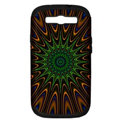 Vibrant Colorful Abstract Pattern Seamless Samsung Galaxy S Iii Hardshell Case (pc+silicone) by Simbadda