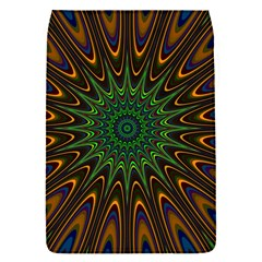 Vibrant Colorful Abstract Pattern Seamless Flap Covers (s)  by Simbadda