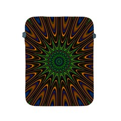 Vibrant Colorful Abstract Pattern Seamless Apple Ipad 2/3/4 Protective Soft Cases by Simbadda