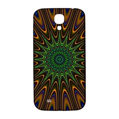 Vibrant Colorful Abstract Pattern Seamless Samsung Galaxy S4 I9500/i9505  Hardshell Back Case by Simbadda