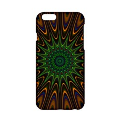 Vibrant Colorful Abstract Pattern Seamless Apple Iphone 6/6s Hardshell Case by Simbadda