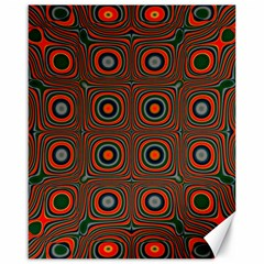Vibrant Pattern Seamless Colorful Canvas 16  X 20   by Simbadda